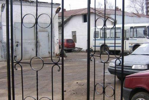 Легкие кованые ворота