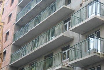 Металлические ограждения для балконов