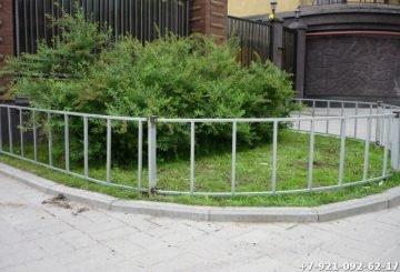 Простой забор для палисадника