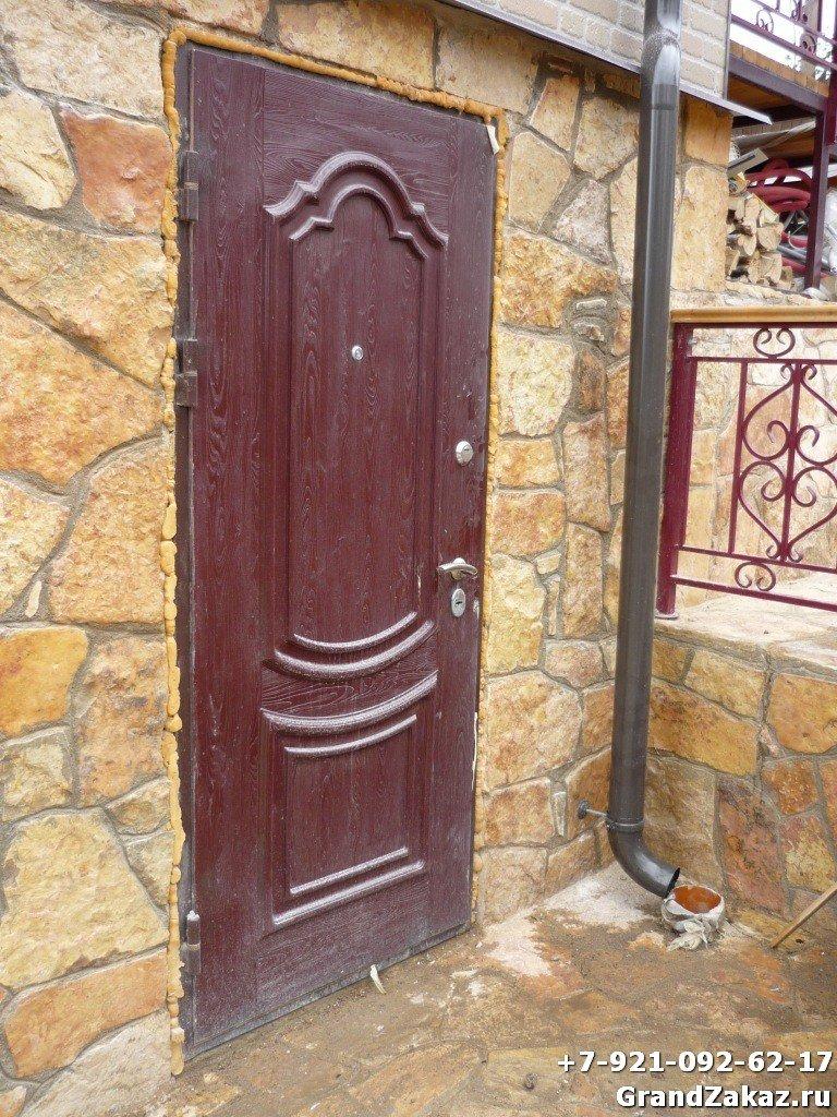 Недорогая входная стальная дверь