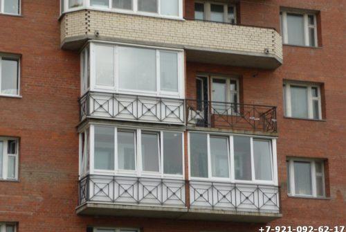 Ограждение для балкона