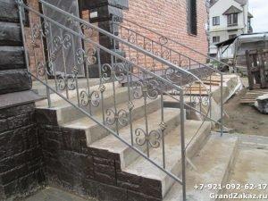 Ограждение для лестницы из металла