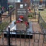 Сварная оградка на могилу