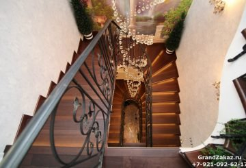 Перила лестницы на заказ